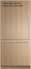 Fisher   Paykel RS36W80LJ1 36  Built In Panel Ready Bottom Freezer 16 8 cu  ft
