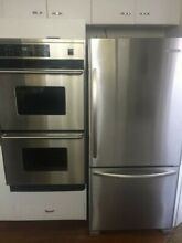 Kitchen Aid stainless Steel Refrigerator and Freezer