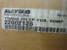 NEW OEM MAYTAG 22002126 TRANSMISSION  OPR