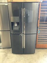 SAMSUNG Appliance RF28K9380SG 36  Black Stainless Steel French Door Refrig  9347