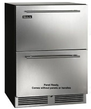 Perlick C Series HC24RB 3 6 24  Built In Undercounter Refrigerator Drawers