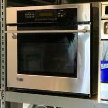 30  GE Monogram Stainless ZET938SF6SS Convection Wall Oven In Good Condition