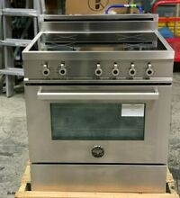 Bertazzoni PRO304INMXE Pro Series 30  Freestanding Induction Range