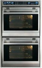Wolf L Series 30  4 5 Dual Convection Ovens Double Electric Wall Oven DO30FS