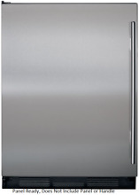 Sub Zero UC24CIRH 24  Built in Panel Ready Undercounter Refrigerator with Ice