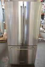 KitchenAid 30  Stainless Steel French Door Refrigerator KRFF300ESS