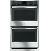 GE Profile 30  Electric Self Cleaning Convection Double Wall Oven PT7550SFSS NEW