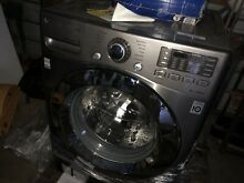 Washing Machine Lg Wm3670hva Front Load Used 2 Weeks