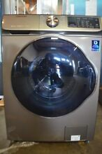 Samsung 24  Grey 2 2 cu  ft  Front Load Washer WW22N6850QX