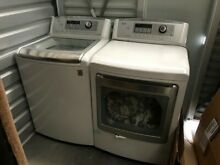 LG  White Washing Top Load Machine   Dryer Set   North Hollywood pick up only