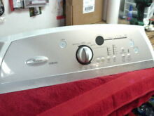 Whirlpool Dryer Control Panel Assembly W10110326  8571856