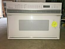 GE Monogram Convection Microwave Oven Built In Model ZMC1095WF03 Good Condition