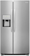Frigidaire FFGSS2635TF  Gallery  Side by Side Refrigerator in Stainless Steel