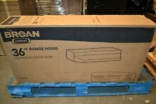 Broan 42000 Series 36 in  Under Cabinet Range Hood with Light in Stainless Steel