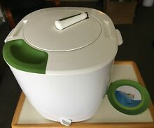 The Laundry Pod Portable Eco Friendly Hand Washing Machine with Spinner
