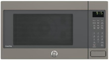 GE Profile PEB9159EJES 1 5 Countertop Microwave Oven with 1 000 Watts in Slate