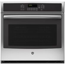 GE JT5000SFSS 30  Built In Single Electric Convection Wall Oven   Stainless stee