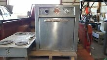 Vintage Tappan Electric Stainless Steel Wall Oven and Range Top  circa 1960