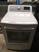 LG DLG7201WE 7 3 cu  ft  Smart Gas Dryer with WiFi Enabled in White