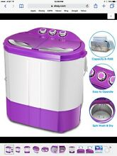 Portable Washing Machine Mini Laundry Washer And Dryer Compact Twin Tub