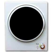 1 50 cu  ft  White and Black Electric Compact Portable Laundry Dryer