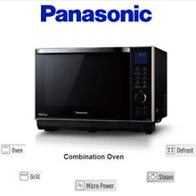 Panasonic NN DS58 1 0 cu  Ft  Steam Combination Inverter Microwave Quartz Grill