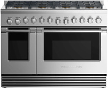 Fisher   Paykel RGV2488LN 48  Propane Range in Stainless Steel 8 Sealed Burners