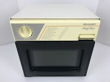 Sharp Half Pint Compact Microwave Model R 4055 Great for Dorm or Office 2 B5