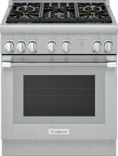 Thermador Pro Harmony 30  5 Sealed Star Burners Pro Style Gas Range PRG305WH