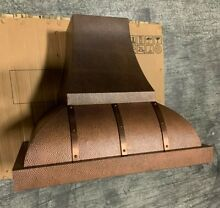 Vent A Hood JCH236A1OL 36  Wall Mounted Hood with Duct Cover in Antique Copper