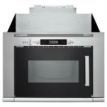 7 cu ft  Over the Range Space Saving Microwave Hood Combination Stainless Steel
