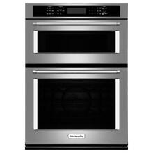 Kitchen Aid KOCE500ESS 30 in  Convection Wall Oven with Built In Microwave   SS
