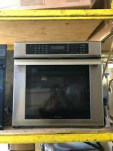 Stainless Steel Thermador 30  Single Electric Wall Oven Used In Good Condition