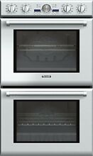THERMADOR Professional 30  W Electric 9 4 Cu  Ft  Double Wall Oven PODC302J  NEW
