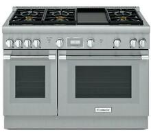 Thermador 48  Professional Series Pro Harmony Stainless Gas Range PRG486WDH