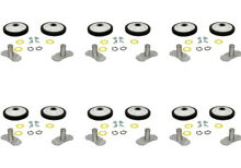 10pcs Fits Whirlpool Washer Pedestal Pad Spacer Round 8537982 PS988850 WP8537982