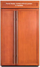 Sub Zero BI 48SID O 48 Inch Built in Side by Side Panel Ready Refrigerator