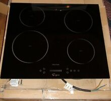 Empava 24  4 Booster Burners Tempered Glass Electric Induction Cooktop