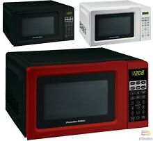 Digital Countertop Microwave Oven Red  Black  White New Free Shipping Return