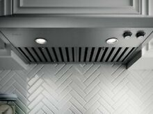 ELICA DUCTLESS HOOD STAINLESS STEEL ECV636SS S50 RO4V 2H IX A 36  HALO X2 LIGHTS