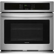 Frigidaire Self cleaning Single Electric Wall Oven  Stainless  30in