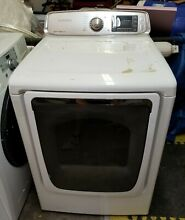 Samsung Electric Dryer 7 4 cu  ft    White DV50F9A6EVW A2   Local Up Only