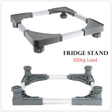 Washing Machine Fixed Bracket Shelf Fridge Base Laundry Pedestal Raised Stand