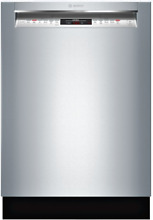 Bosch SHEM78W55N 800 Series Full Console Dishwasher in Stainless Steel 24 Inch