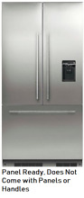 Fisher   Paykel RS36A72U1 36  Built in French Door Refrigerator Panel Ready