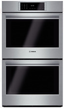 Bosch HBLP651UC Benchmark Series 30  Double Electric Wall Oven Stainless Steel