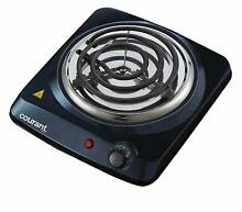 Courant Electric Burner  Single Buffet Countertop Hotplate  1000W Portable Cookt