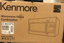 Kenmore Microwave hood Convection Combination