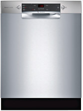 Bosch 300 Series SGE53X55UC Full Console Dishwasher Stainless Steel 24
