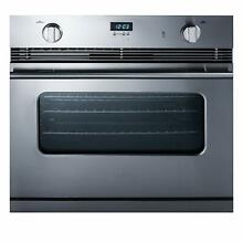 Summit SGWO30SS 30 Inch Wide 3 Cu  Ft  Single Gas Oven with Convection